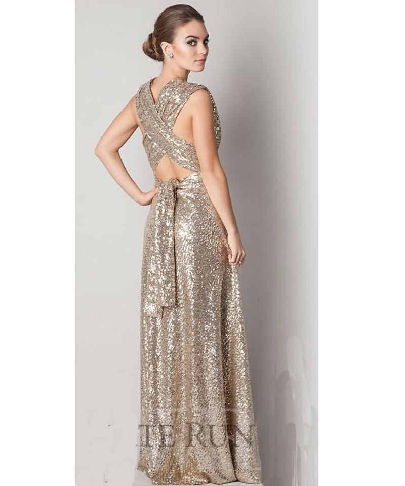 Long gold dresses under 100 dress online uk for Long wedding dresses under 100