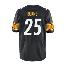 hot sale Mens #25 Artie Burns #43 Troy Polamalu #7 Ben Roethlisberger #26 Bell White Black Elite Stitched Logos(China (Mainland))