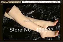 Online Sale Feet with Legs for Foot Fetishism,Sexy Girls Legs,Solid Silicone Female Feet with Legs,Sexy Feet for Display,FT-36LD
