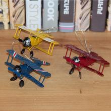 New Vintage Toys Airplane Model Metal Iron Handcraft Plane Aircraft Home Wedding Decoration Car Styling Handicraft(China (Mainland))
