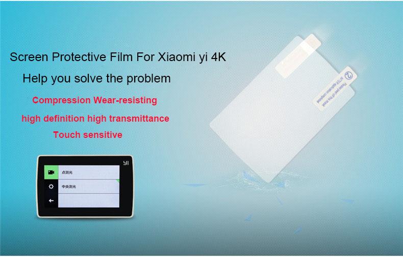 image for Kingma Screen Protective Film For Xiaomi Yi 2 4K Protect Camera Screen