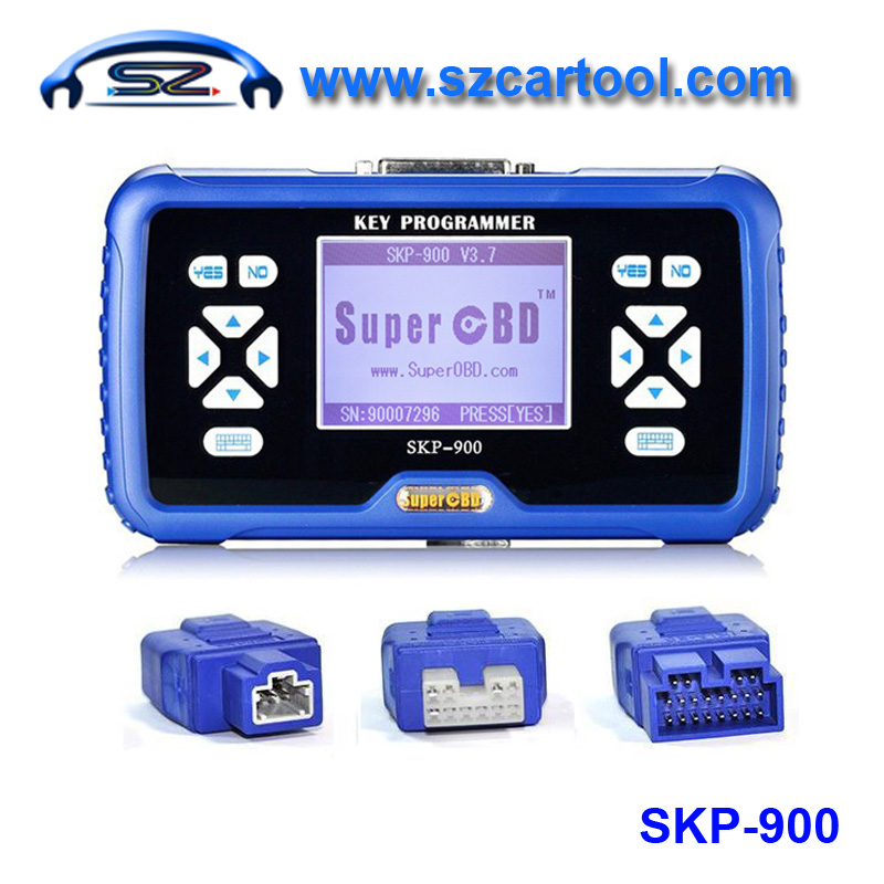 Newest SuperOBD SKP-900 OBD2 Key Programmer V4.1 SKP900 Key Programmer SKP900 Auto Key Programmer Support Almost All Cars(China (Mainland))
