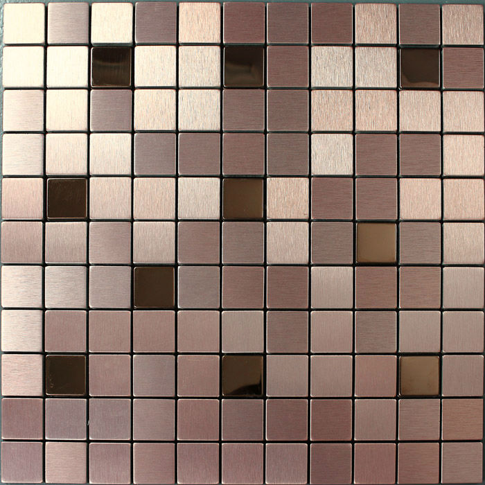metallic mosaic tile bathroom aluminum plate stainless steel tile wholesale kitchen backsplash tiles wall shower tile F9103(China (Mainland))