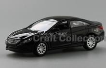 Black 1/35 New Hyundai Sonata 8th Generation Miniature Model Car Die casting Parts Korea Factory Scale Models