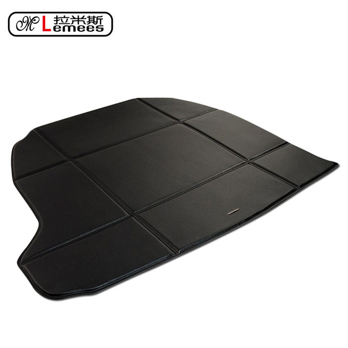 wateproof non slip car trunk mats for Cadillac CTS SRX ATS XTS in high class PU leather<br><br>Aliexpress