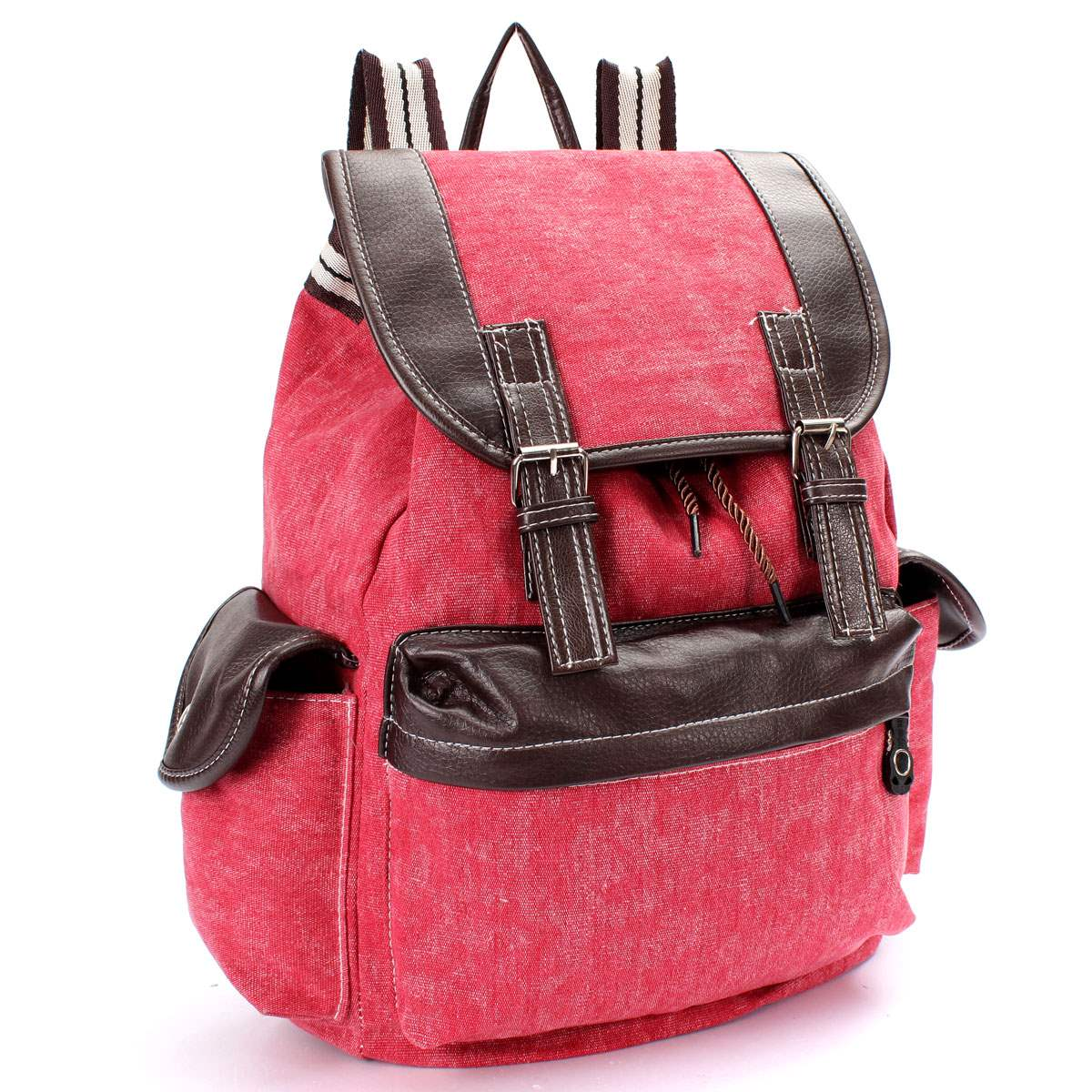 Aliexpress.com : Buy Fashion Vintage Rucksack Backpack Men Women ...