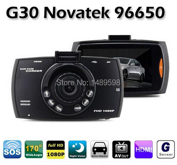 Автомобильный видеорегистратор G30 2,7/tft 170 HD WDR 1080P DVR BlackBox 96650 автомобильный видеорегистратор oem g90 1080p hd 170 ambarella a7la30 dvr