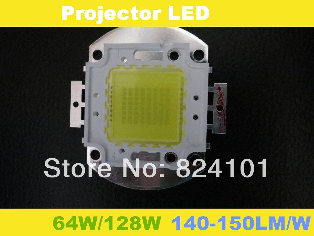 128w led chips bridgelux 45mil 140-150lm/w high power mini projector portable video - Shenzhen Rise-Top Technology Co.,LTD store