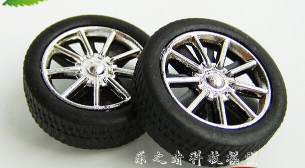 Plastic Models Cars Model Diy Wheel Plastic Toys