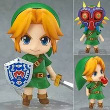 2016 New 10cmPVC Link Figure The Legend of Zelda Figures 3D Mask Cute Figure Game Figure toy doll