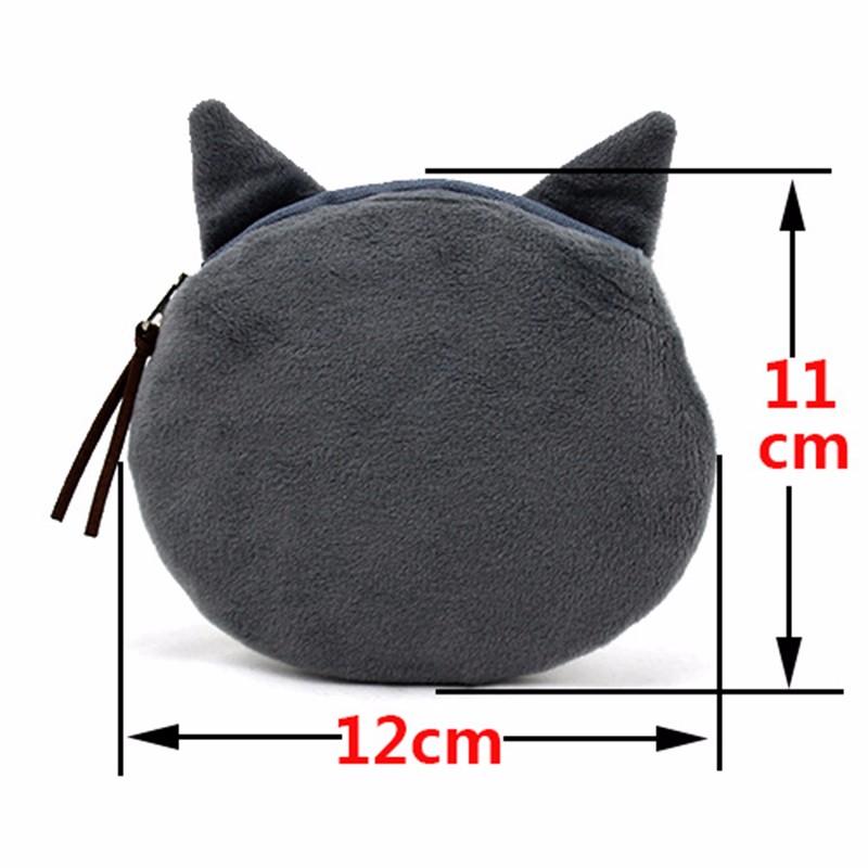 Мода портмоне изменения кошельки кошка хорошенький портмоне сумки женские кошельки. женщины сцепления