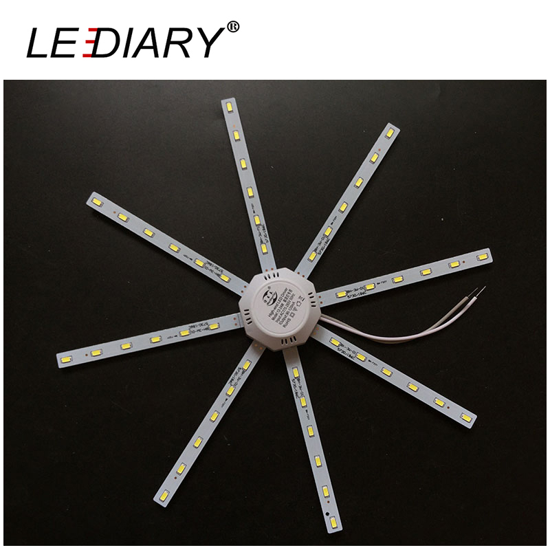 2D Replaceable LED Light Source For Ceiling/Kitchen Lamp 12-24W 180-240V With Magnet Led Lights Replacement PCB With Driver(China (Mainland))