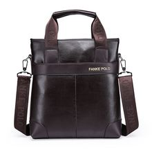 Wholesale 2016 New Men's Messenger Travel Bags Business Men PU Leather Laptop Tote Bags Man Casual Crossbody Briefcases(China (Mainland))