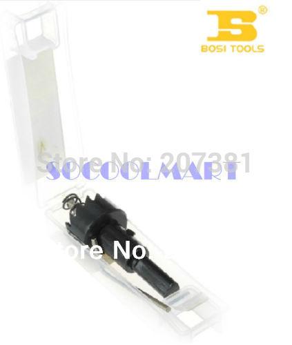 free shipping 1pcs Gray Metal 5.5mm Twist Drill Bit 42mm Cutting Diameter Hole Saw w Hex Wrench