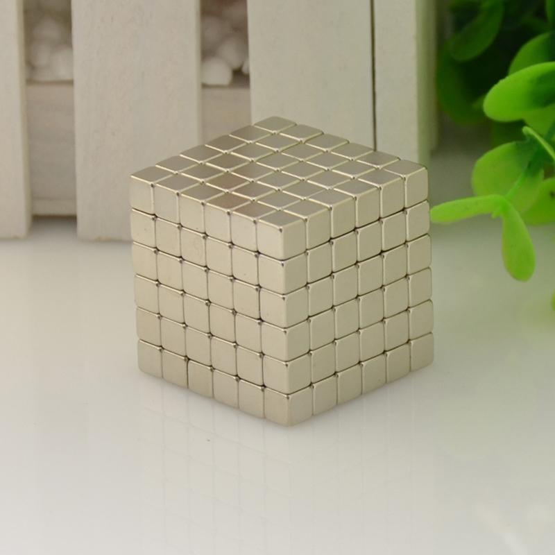 Magnetic Balls Cube Size: 3mm, 4mm, 5mm Neo Magic Cube Block Nickel Magnet Ball Magic Toy Metal Box+bag+card(China (Mainland))