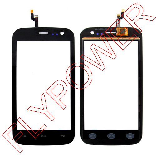 for Explay Golf LCD Touch screen Digitizer front glass replacement Black By Free Shipping