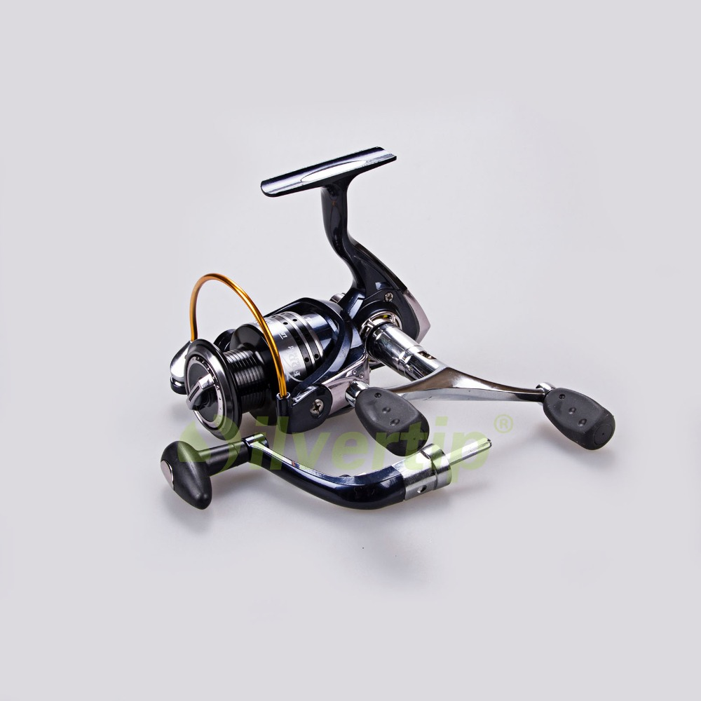Free shipping 12 1 bb 5 2 1 spinning fishing reel dual for Fishing reel handles replacement