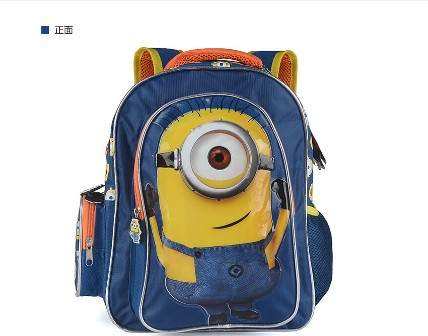 Minion Backpack mochilas 3d Kids School Bags for Boys girls Schoolbag Backpacks children fashion bag mochila escolar infantil