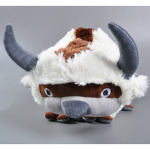 50CM Big Size Anime Kawaii Avatar Last Airbender Appa Plush Toy Soft Juguetes Stuffed Animal Brinquedos Doll Kids Toys
