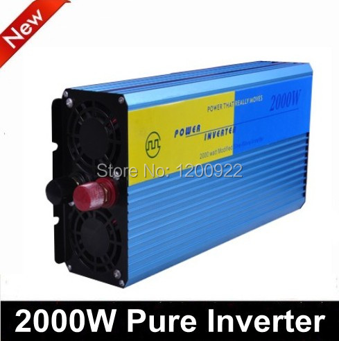 2000W pure sine wave inverter for household appliances, electric tools, solar photovoltaic power system(China (Mainland))