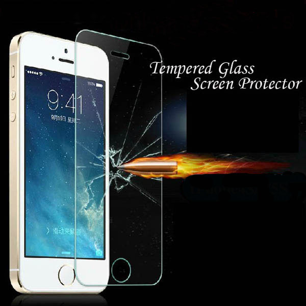 Tempered Glass!! Clear Front Screen Protector For Iphone 4 4s 4g Ultra Thin Crystal Protective Film Retail Package