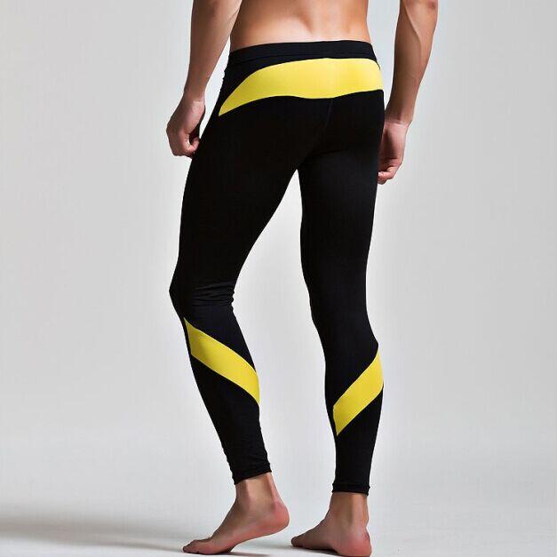 Winter Thin Fleece Thermal Underwear Men Long John Pants Warm Sexy Leggings Mens Spandex Tights Compression Sweat Pants Brand(China (Mainland))