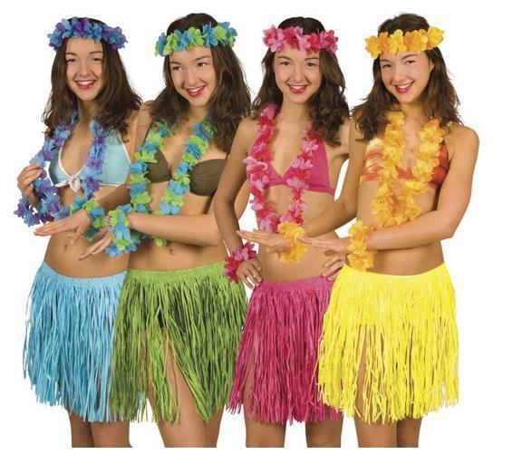 Костюмы на гавайскую вечеринку своими руками