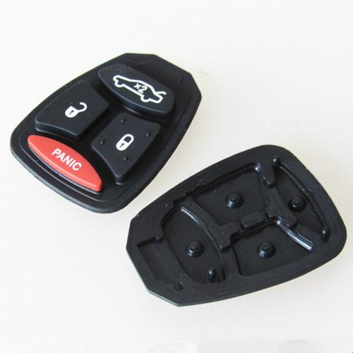 Hot sell chrysler 3+1 button remote key pad 30pcs/lot free shipping(China (Mainland))