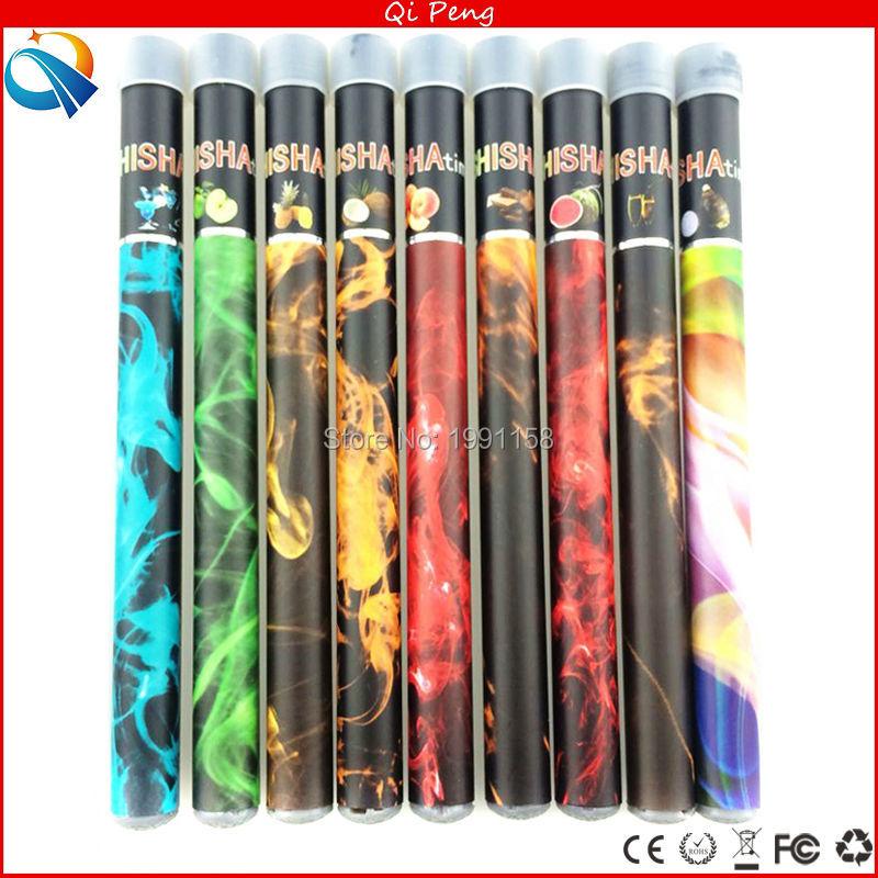 40pcs/lot Shisha Disposable cigarette E hookah shisha pen 500 puffs 34 flavors natural smoking disposable ecig green healthy cig(China (Mainland))