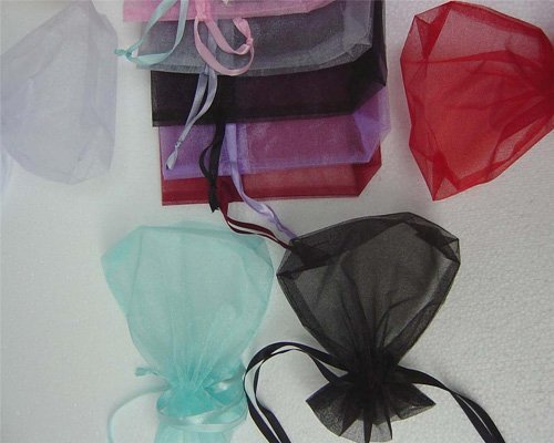 2016---7x9cm Christmas/Wedding Jewelry Gift Organza bags