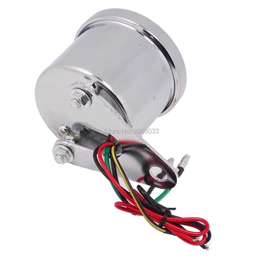 Motorbike Instrumentation Tachometer Motorcycle Universal Odometer Speedometer Gauge Scooter LED Backlight Signal Light Digital