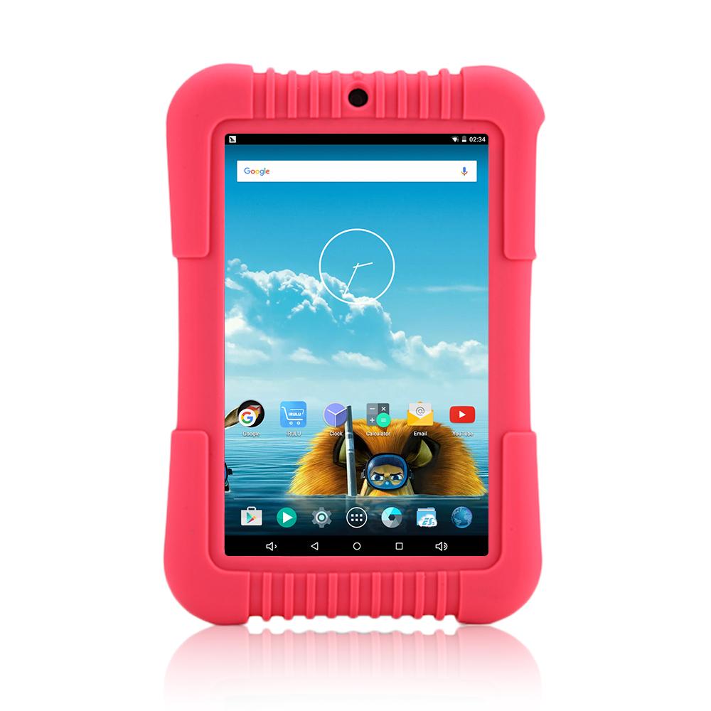 Original iRULU Y37 Google Baby Tablet PC Quad Core Android 5.1 7'' HD IPS 1280X800 PAD 1GB+16GB wifi Bluetooth 4000mAh(China (Mainland))