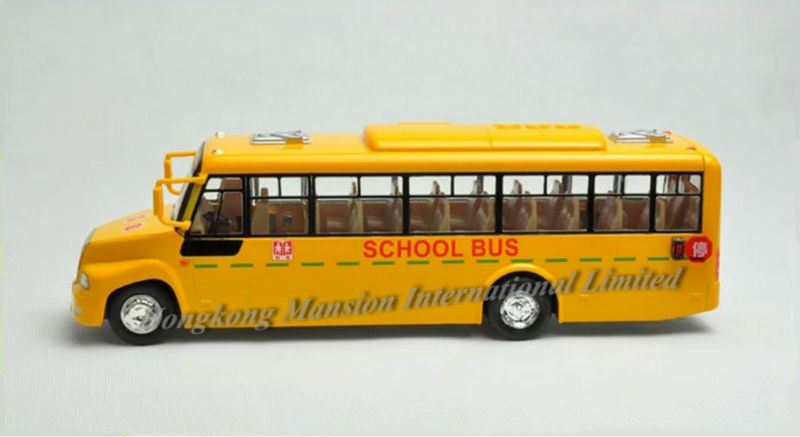 132 Car Model For Amecican School Bus style 1 (3)