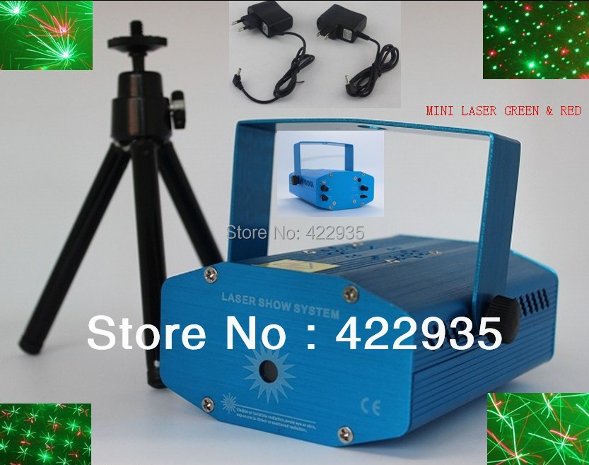 150MW Mini Red-Green Moving Party Stage Laser Light tripod laser DJ party disco light - JUGAL Stationery Store store