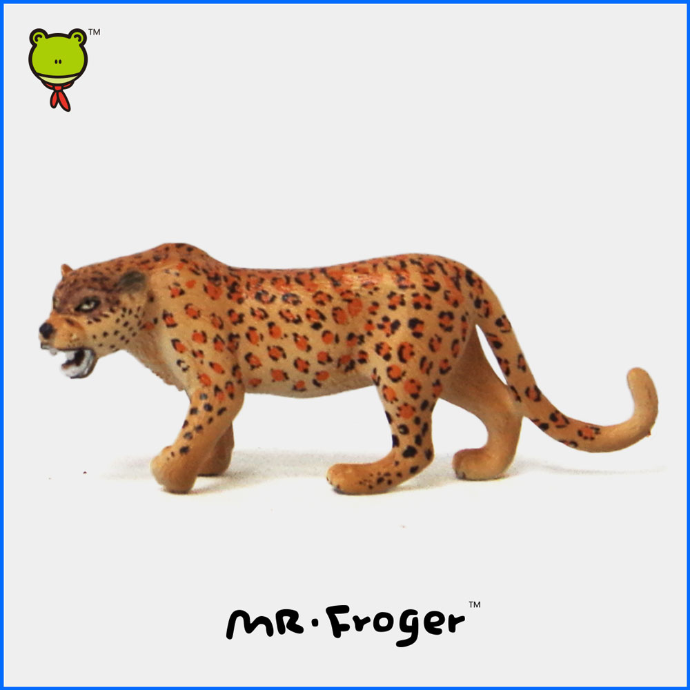 Mr.Froger Cheetah Model Toy Wild animals toys set Zoo modeling plastic Solid Classic Toys Children Animal Models cute collection(China (Mainland))