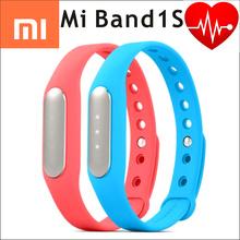 100% Original Xiaomi Mi Band 1S pulse miband fitness tracker heart rate IP67 Smart Bluetooth 4 Wristband Bracelet Sleep Monitor