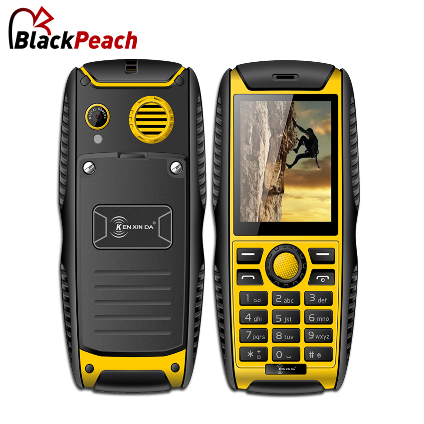Kenxinda W3 IP68 Rugged Feature Phone SC6531 32MB ROM 0.3MP 2000mAh Battery Waterproof Shockproof Phone With CE In Stock(China (Mainland))