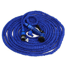 New Expandable Magic Flexible Garden Hose For Car Water Hose Pipe Plastic Hoses To Watering With Spray Gun E2shopping(China (Mainland))