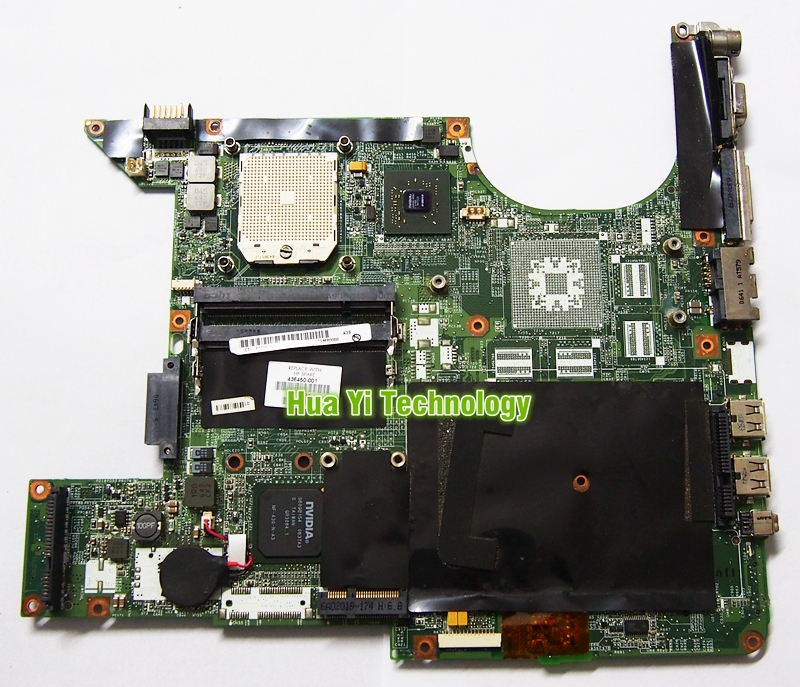 436450-001 For HP DV900 DV9500 DV9700 Laptop Motherboard DAOAT9MB8A3 Mainboard 100% Tested fully work(China (Mainland))