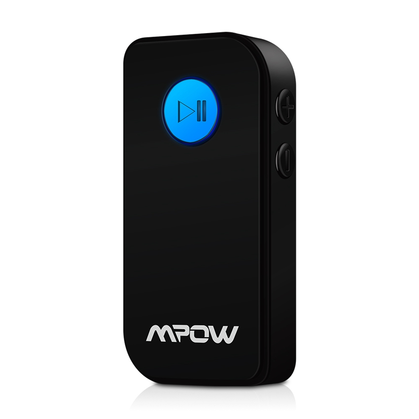 Mpow MBR4 Portable Bluetooth V3.0 Audio Music Streaming Receiver With Hand Free Calling and 3.5mm Stereo Output For Car Aux Home(China (Mainland))