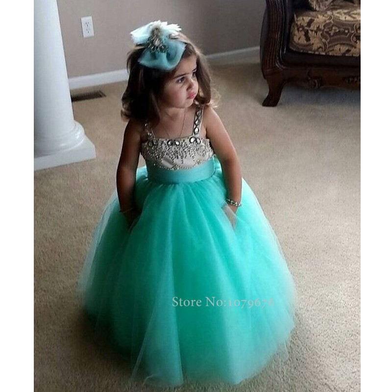 Online Get Cheap Little Girl Dresses Turquoise -Aliexpress.com ...