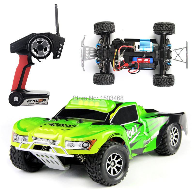 Free shipping 29cm 1:18 WLtoys Vortex 2.4G 4WD High-speed off-road vehicles Remote control car RTR Speed of 50KM / H Toys Gifts<br><br>Aliexpress