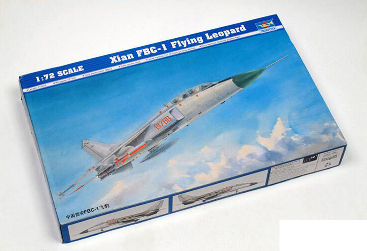 Hobby DIY 3D toy Static model 1/72 China FBC-1 Flying Leopard fighter-bomber aircraft model kits Building Block for kids(China (Mainland))
