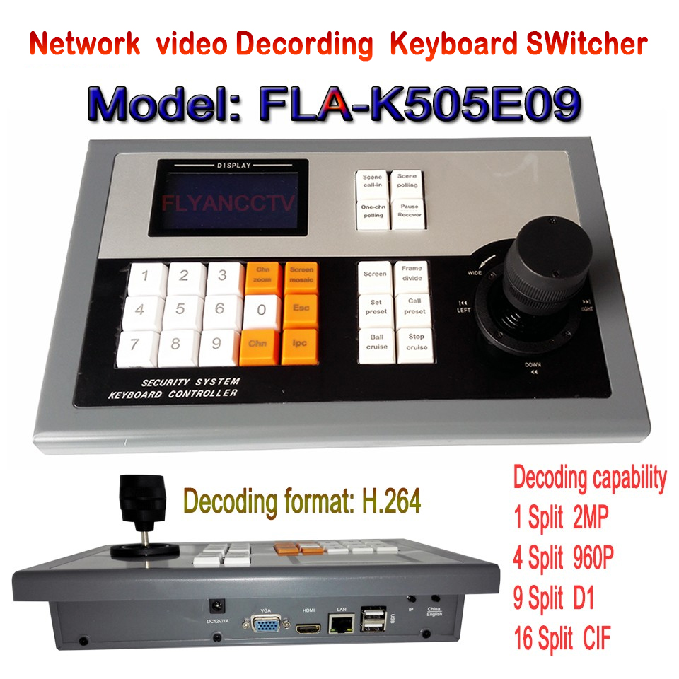 Ip декодер 3 D контроллер клавиатуры 2 цифровое управление клавиатурой 9 экран NVS qq