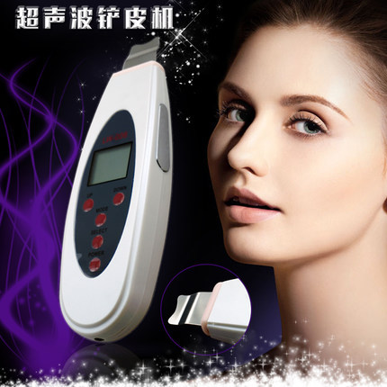facial cleanser machine shovel acne wrinkle remover whitening cleanser massager relax face cleaner tool(China (Mainland))