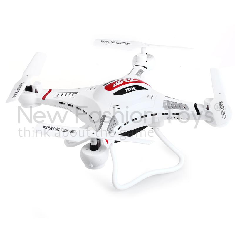 JJRC H8C 2.4GHz 6 Axis Gyro HD 2MP Camera RC Remote Control Quadcopter Aircraft white