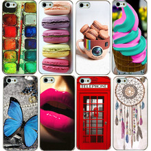 Bright interesting UV print hard phone case  For iphone 5 5s back Cover