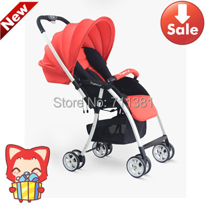 High Quality Domestic Baby Carriage Travel Baby Stroller Big Wheels Shockproof Comfortable Kids Buggy In Cheap Price<br>