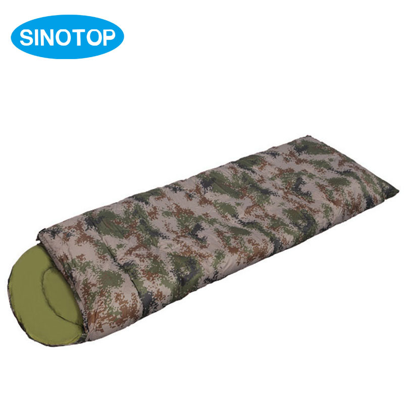 220*75 CM Ultra Light Portable Outdoor Camping Travel Waterproof Camouflage Single Searock Mini Sleeping Bags Spring Autumn S2(China (Mainland))