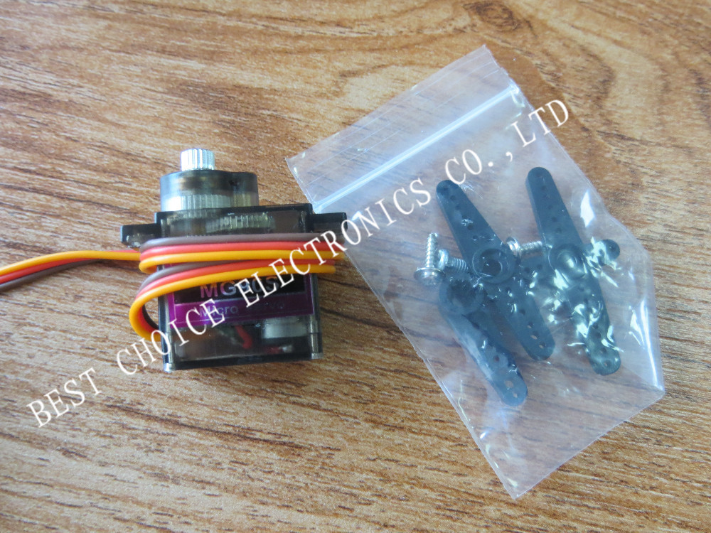 Free Shipping Wholesale 10pcs/Lot MG90S 9g Metal Gear Digital Micro Servos 9g for 450 RC helicopter Plane Boat Car(China (Mainland))
